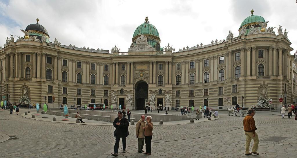 hofburg paleis wenen