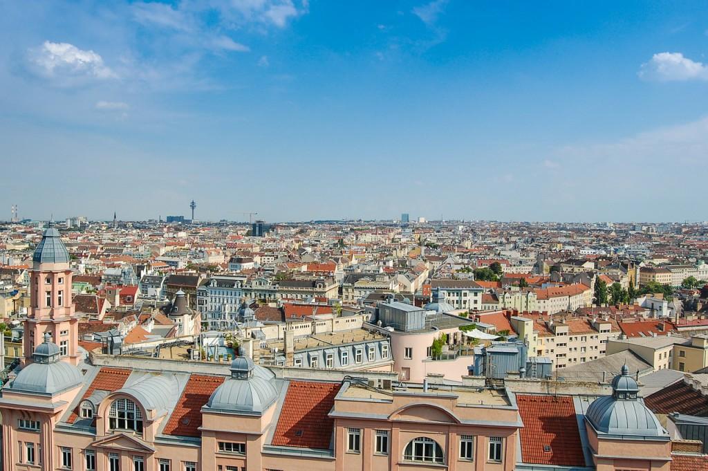 Wenen skyline