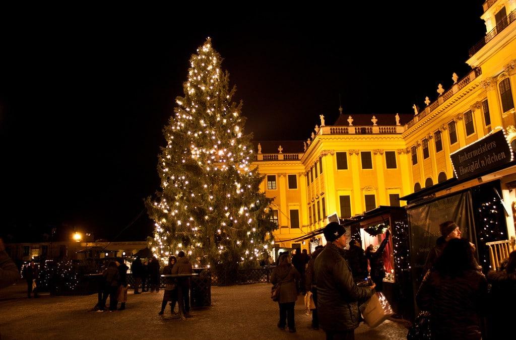 De kerstmarkten zijn open