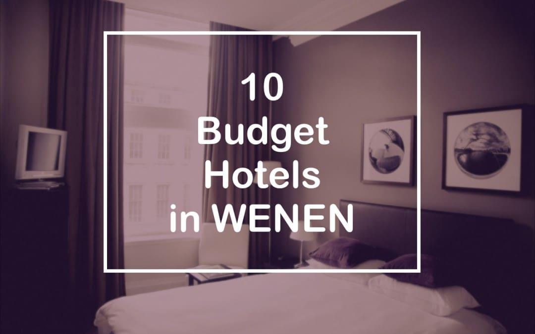 10 budget hotels in Wenen
