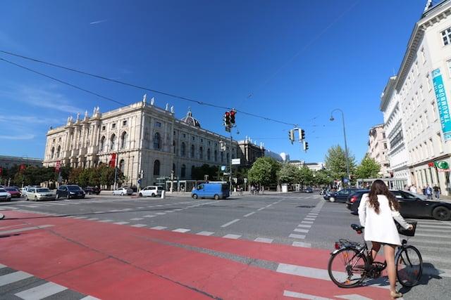 Fietspaden in Wenen