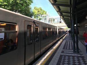 Metro Station Schloss Schonbrunn