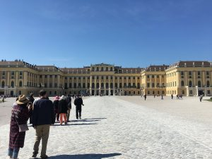 Schonnbrunn met kinderen bezoeken