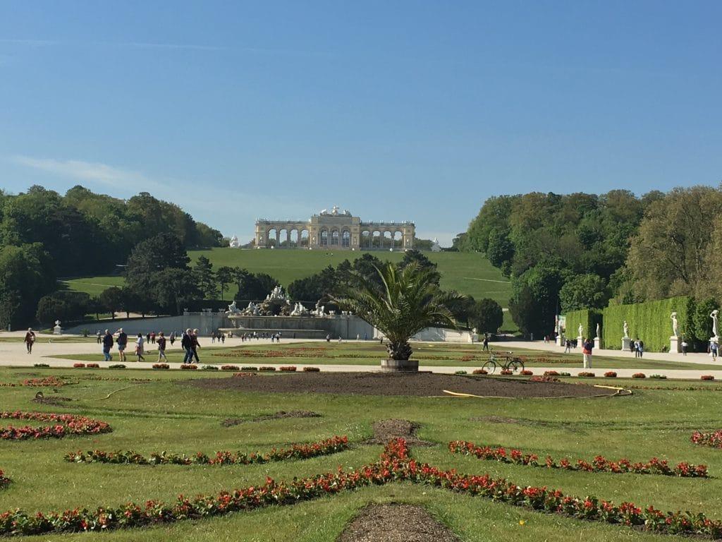 De tuinen van Schloss Schonbrunn