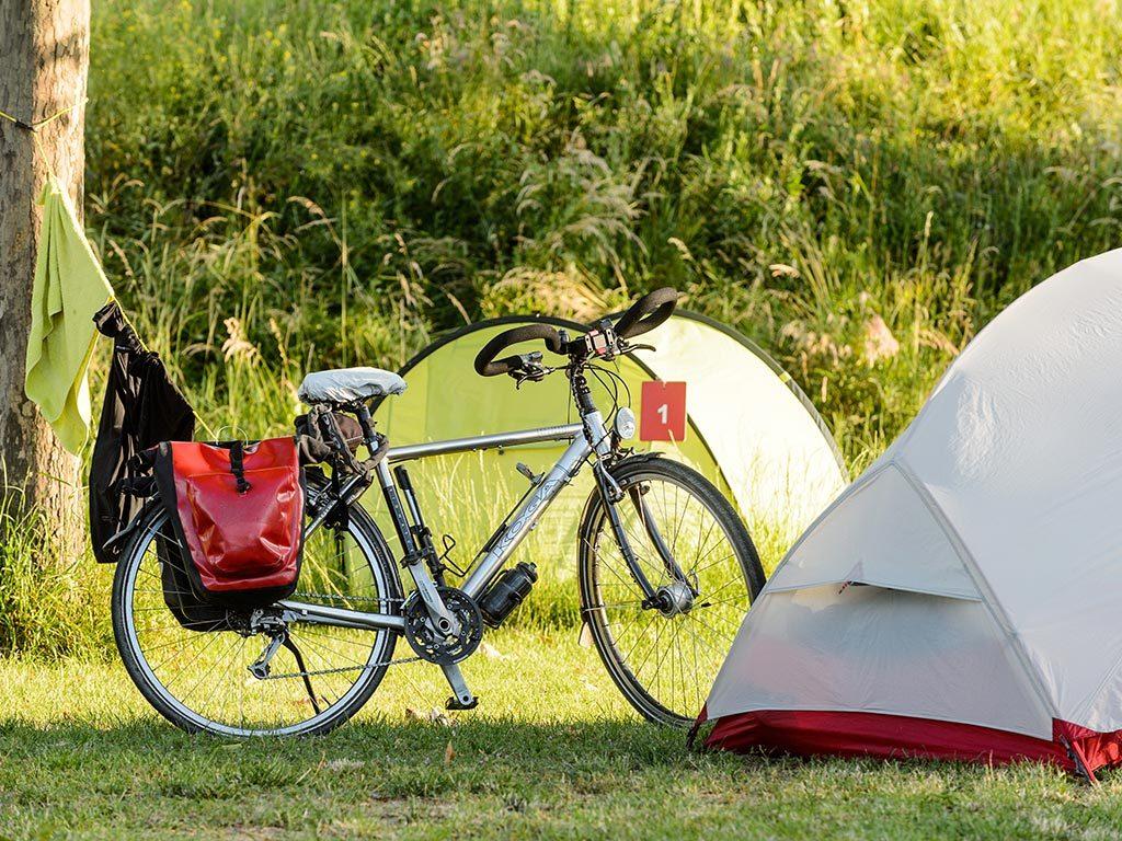 Camping neue Donau