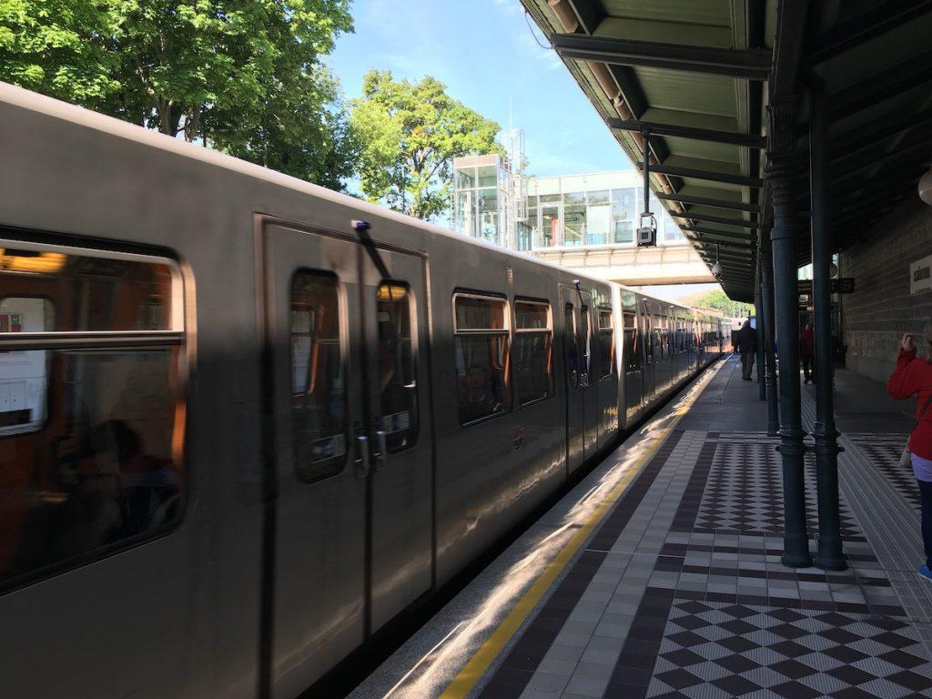 De metro in Wenen