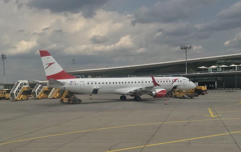 Met austrian Airlines naar Wenen