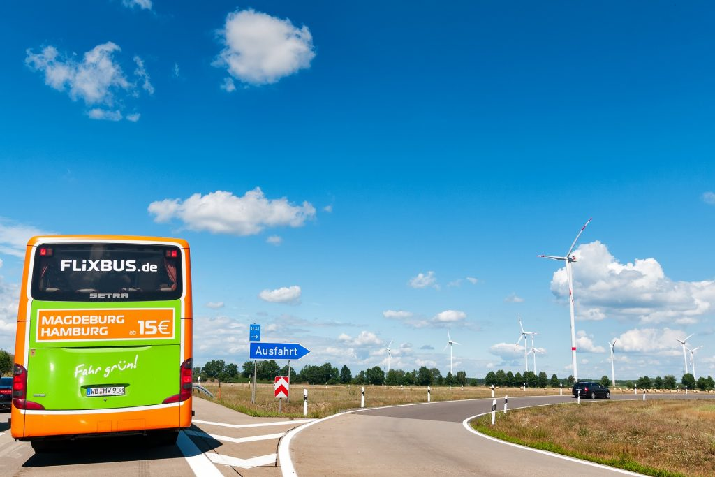 Met de bus naar Wenen