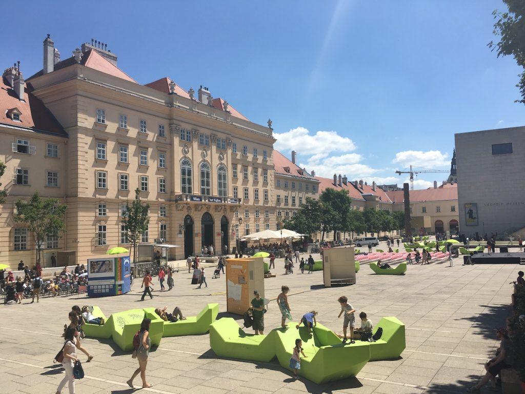 Museum Quartier wenen Leopold museum